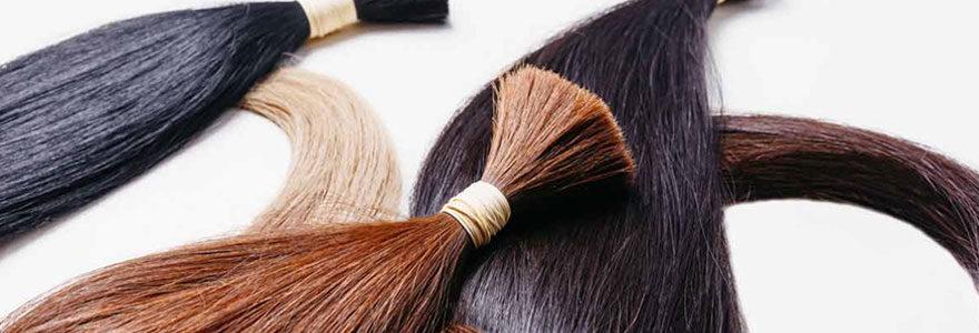 Extensions et rajouts de cheveux naturels
