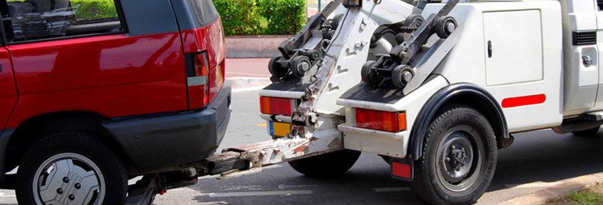 Présence d'un véhicule en fourrière à Toulouse