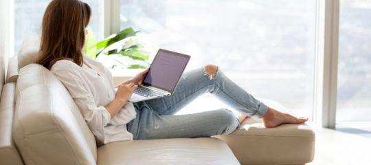 Canapé en ligne