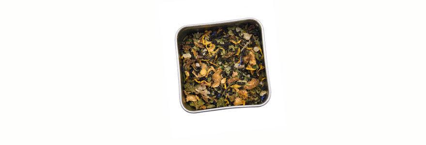 Thé à base de Cannabis